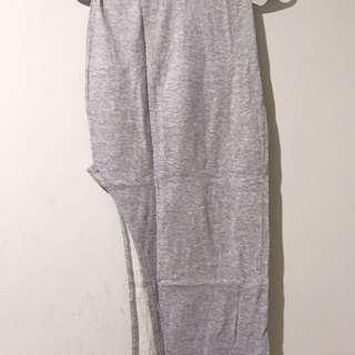 Gray Sexy Skirt