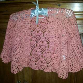 Crochet Short Cardigan