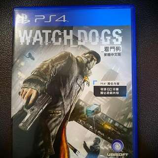Ps4. Watch dogs 中文