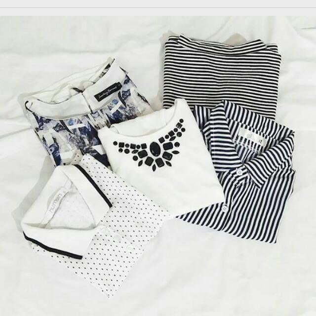 5 Clothes For 1,500php !! FREE SHIPPING !!