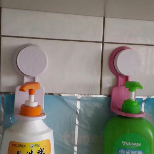 浴室 吸盤掛架