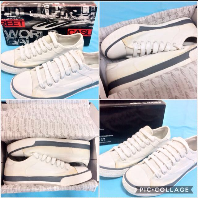 🔴 World Balance White Sneakers