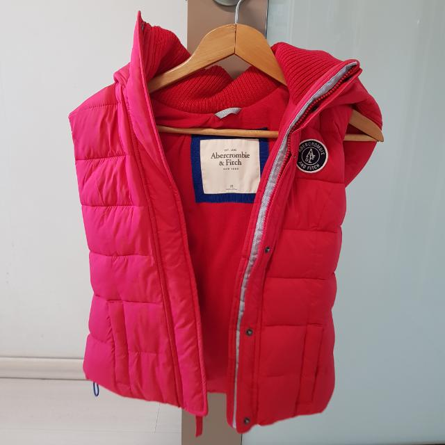 Abercrombie And Fitch Winter Vest Xs