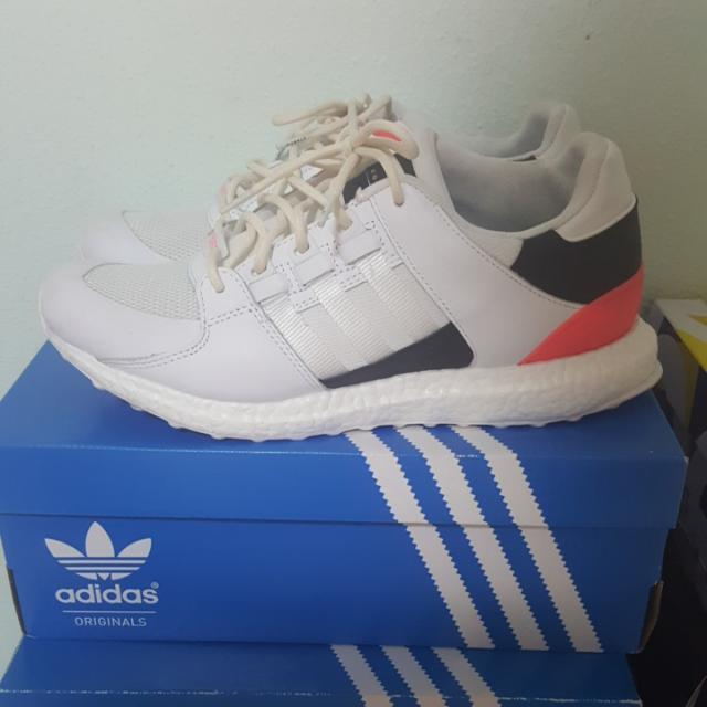 3367655bd2c37 Adidas EQT Support Ultra 93 16 White Turbo Red US10