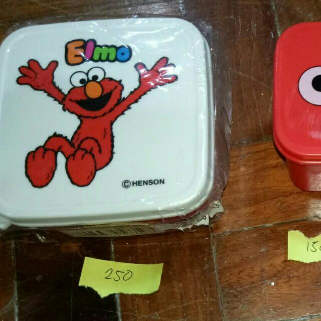 Assorted Sesame Street Containers