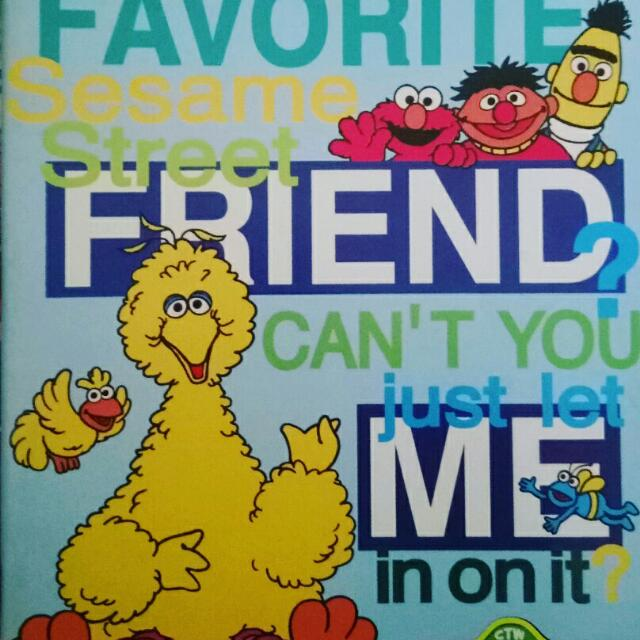 Assorted Sesame Street Notebooks