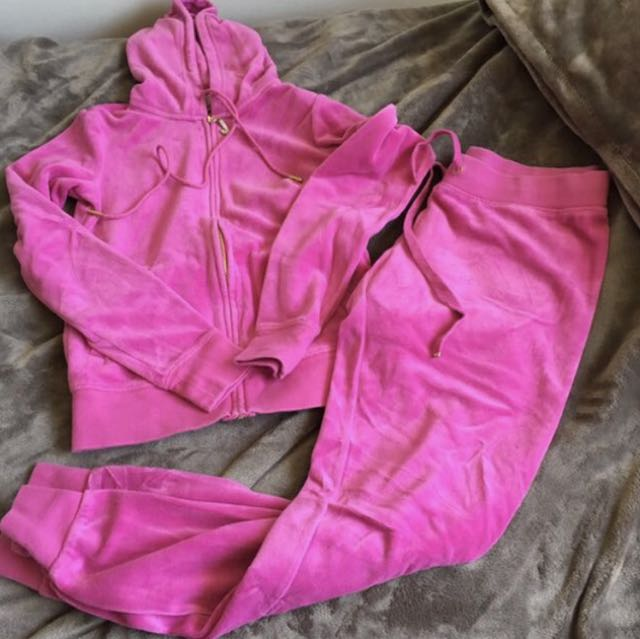 Authentic Hot Pink Juicy Tracksuit