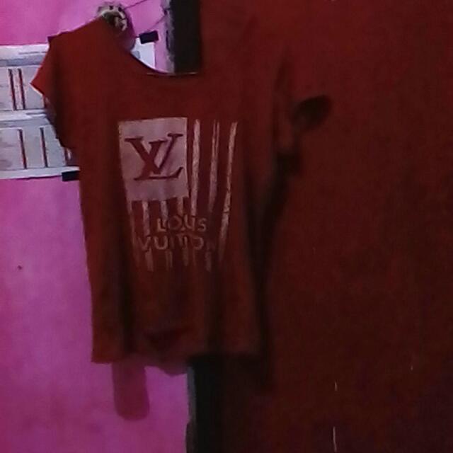Baju Crop Merah