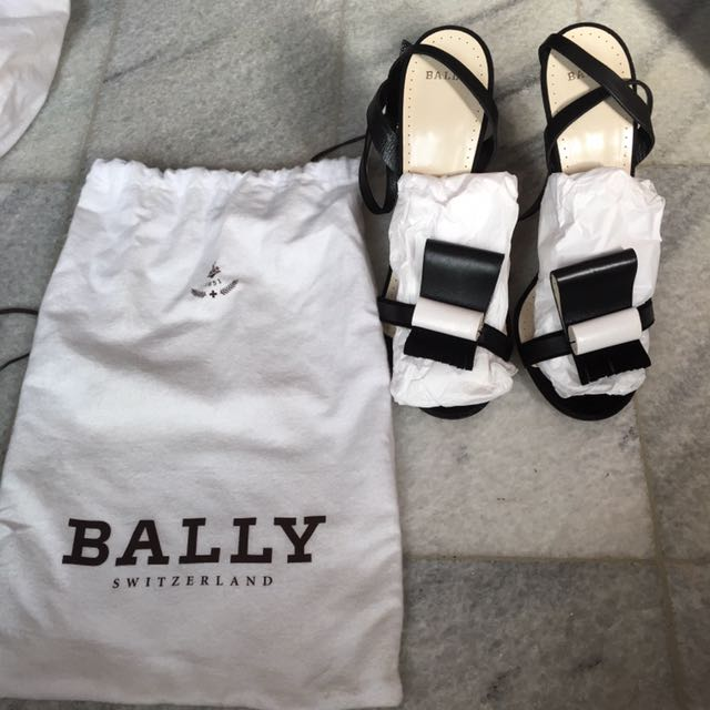 Bally Heels 40 New Authentic
