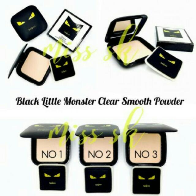 Bedak Little Monster Clear Smooth Powder