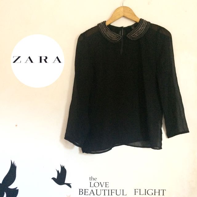 black blouse ZARA
