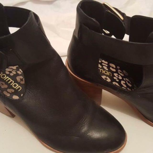 Black Gorman Boots