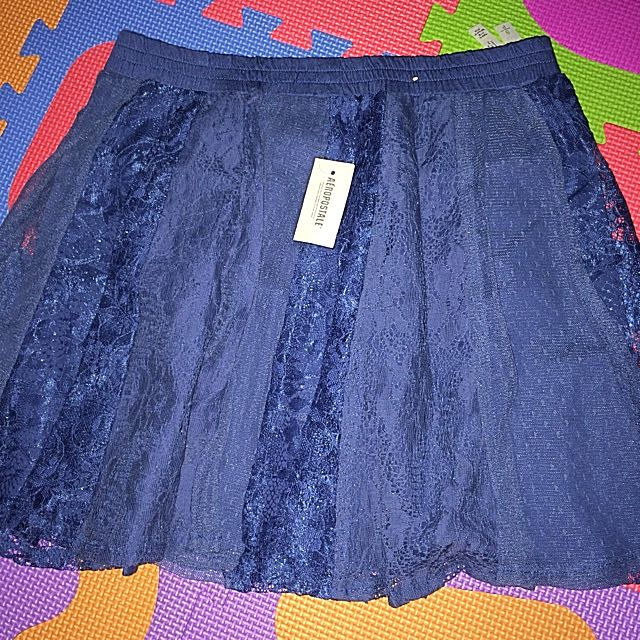 Brand New Aeropostale Skirt - Blue