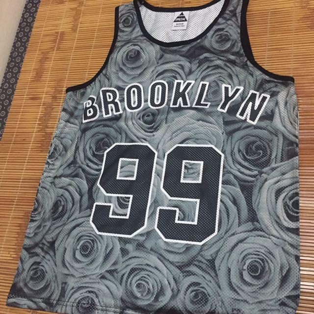 brooklyn 復古 球衣 99 滿版