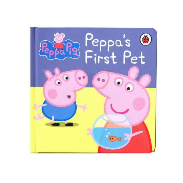"BUKU IMPORT PEPPA PIG ""PEPPA'S FIRST PET"""