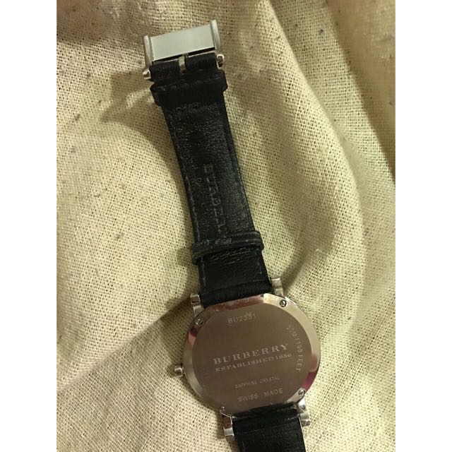 FashionWatches Burberry FashionWatches Carousell On On Carousell Burberry Bu2351Men's Burberry Bu2351Men's ARjL345