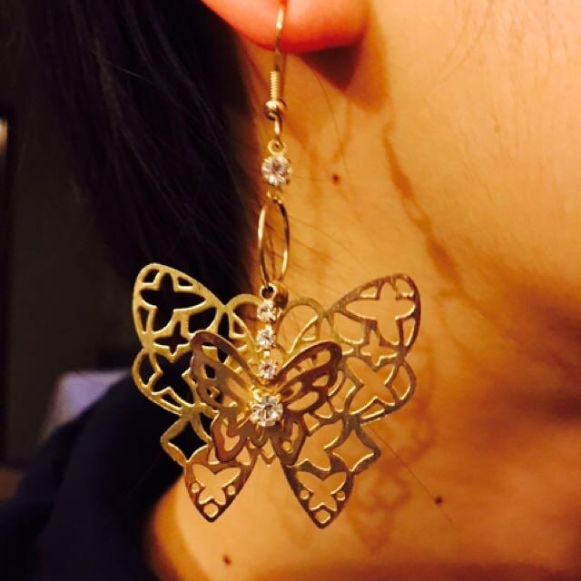 Butterfly Earrig