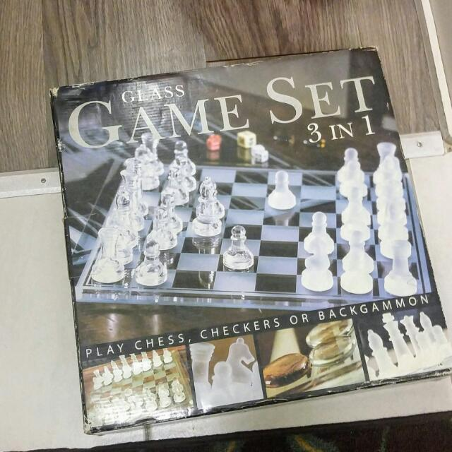 Complete Chess Game Set