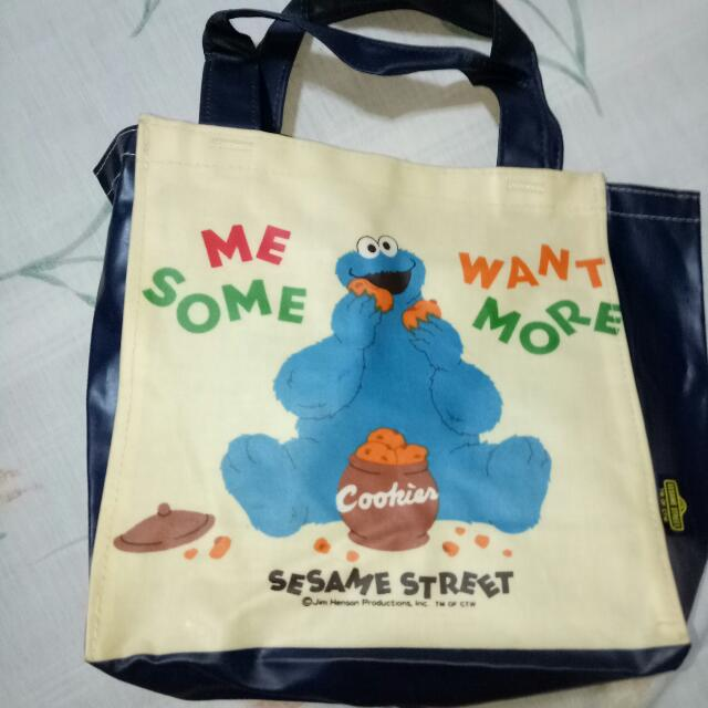 Cookie Monster Mini Lunch Bag