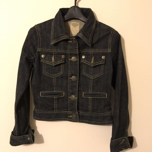 Cropped Denim Jacket From Japanese Brand