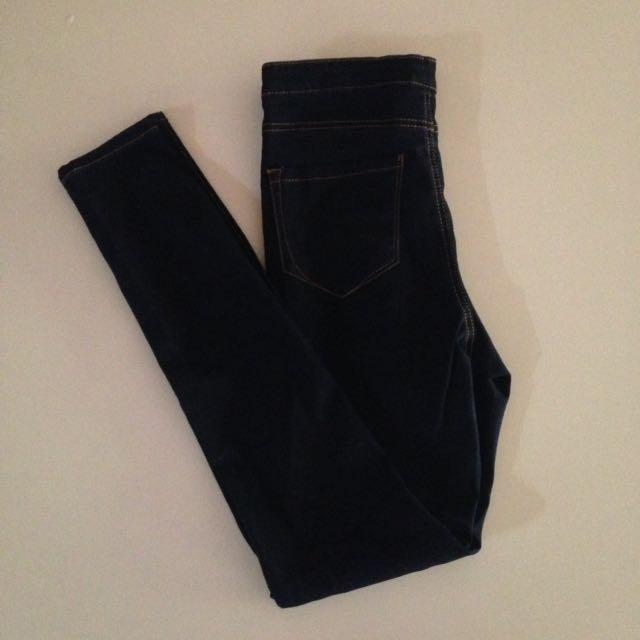 Denim Co. High Waisted Jeans