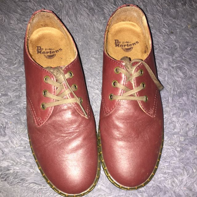 Dr Martens Coronado Red cherry