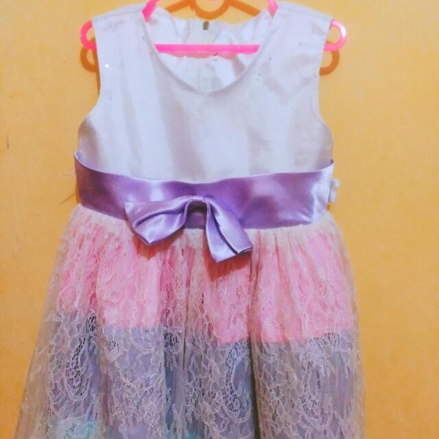 FREE ONGKIR Dress Anak Usia 1-2thn