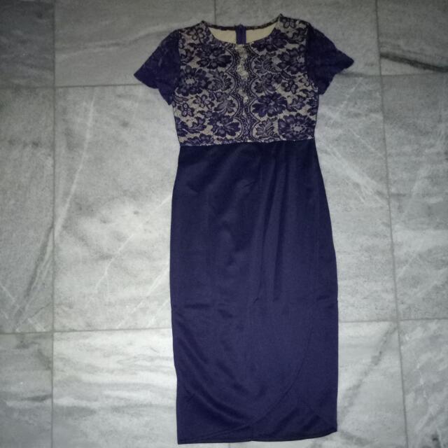 Dress Lace Brukat