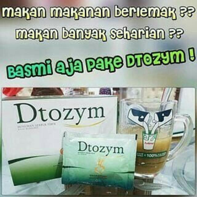 DTOZYM = Herbal diet Ampuhh Coyy