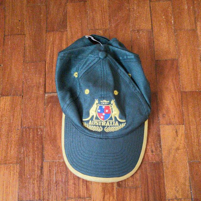 Embroidered Austrailian Cap