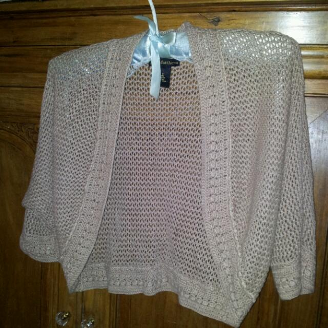 Erin Matthews Knitted Shrug