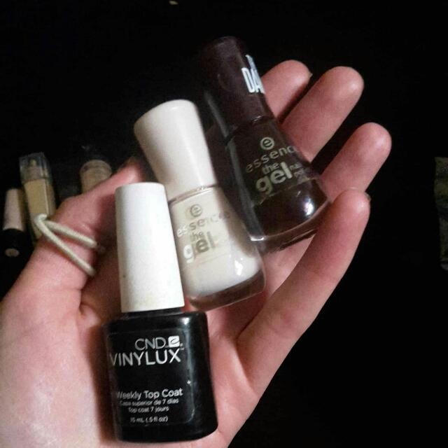 Essence And Vinyl Lux Nail Polish