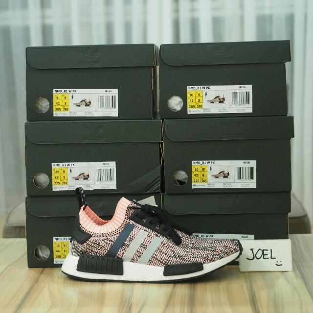 Adidas NMD R1 PK Salmon Pink, Men's