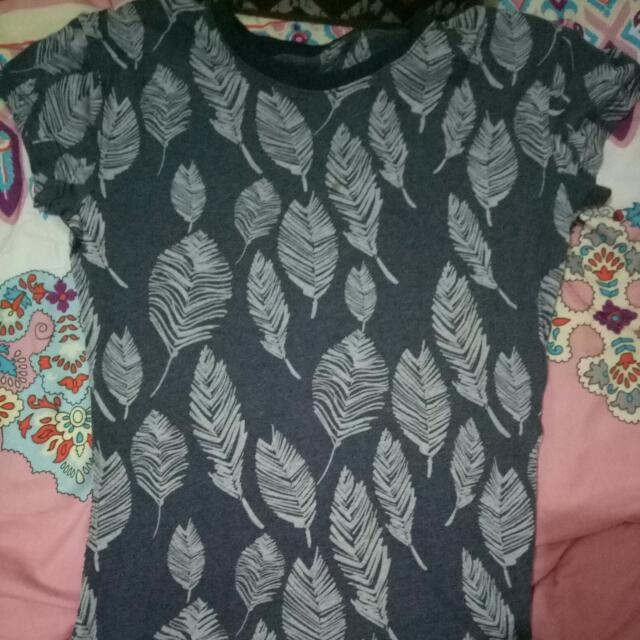 Feather Blue Blouse