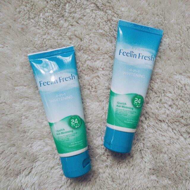 Feelin' Fresh Quelch Deodorant Cream