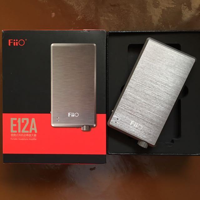 Fiio E12A Portable Headphone Amplifier
