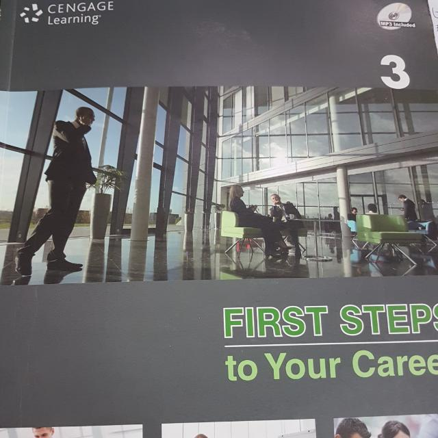 First steps to your career 3