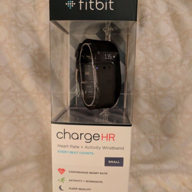 Fitbit-charge HR - Black