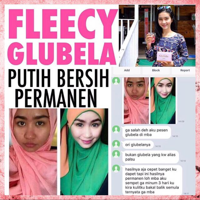 Fleecy glubela