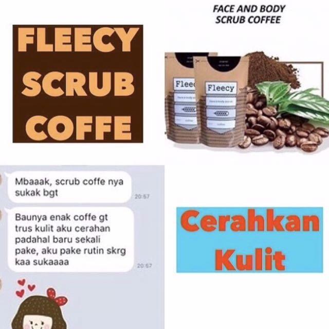 Fleecy Scrub Coffee