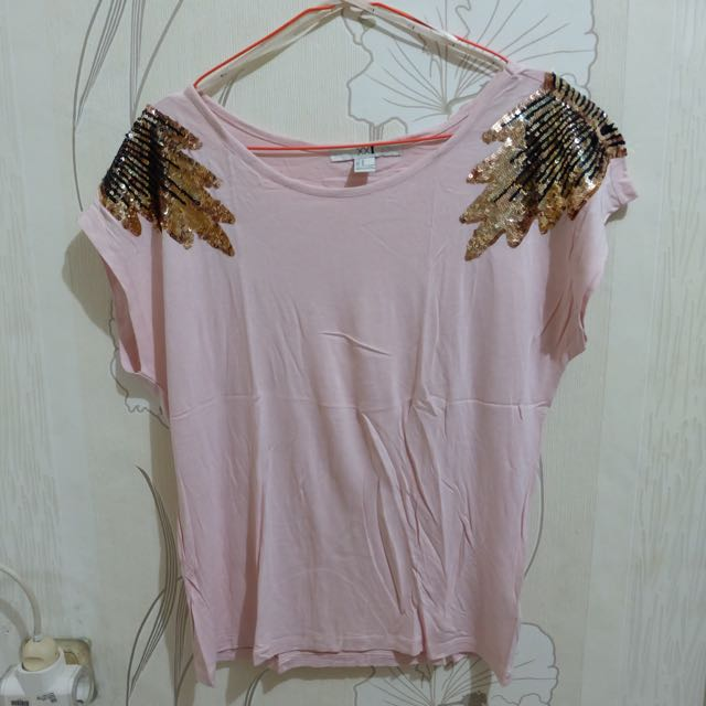 Forever21 Soft pink top
