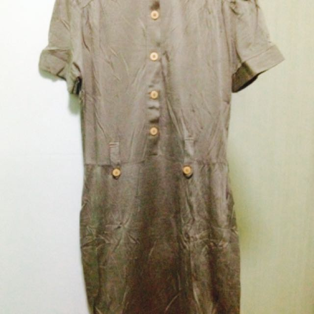Formal Dress( Goldish)