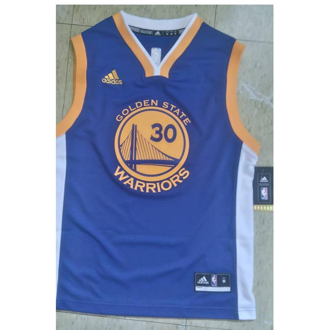 newest 88e85 09956 ORIGINAL Golden State Warrior Jersey