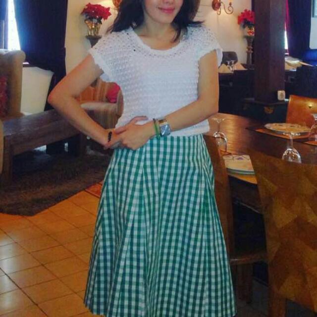 TURUN HARGA!!! Green Skirt Rp. 50.000 AJA