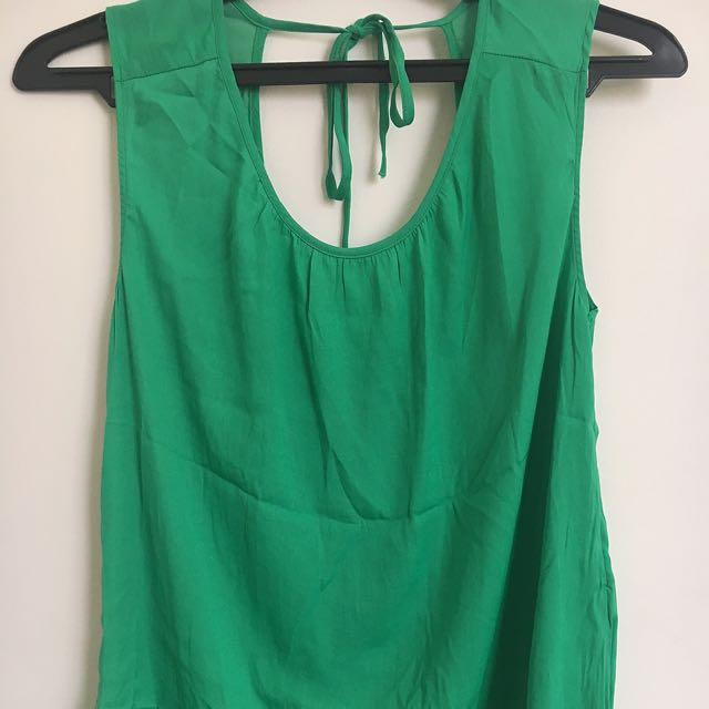 Green Top By Stradivarius