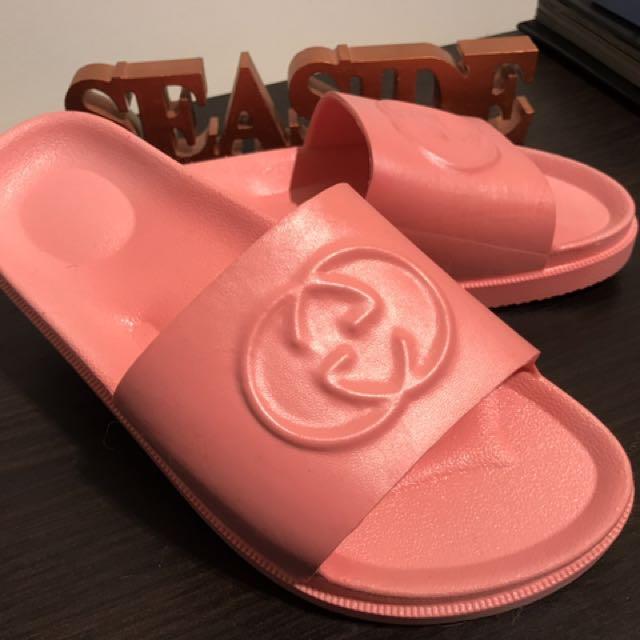 85b173d6a4fa Gucci Inspired Slide Sandal