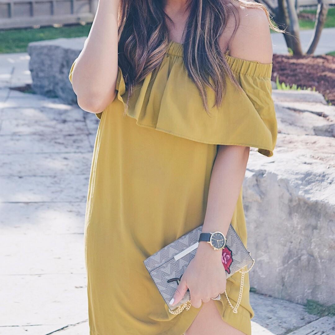 H&M OTS Dress (small)