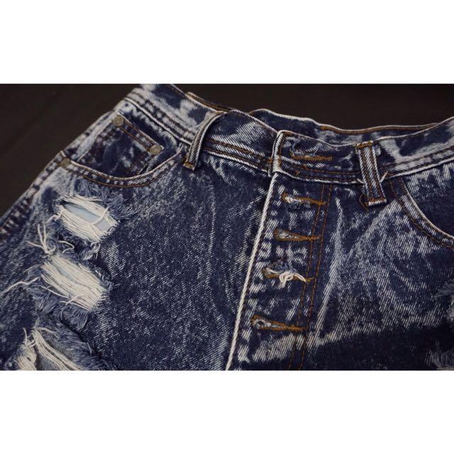 hotpants jeans