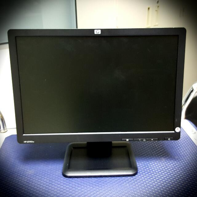 Uitgelezene HP 19 Inch Wide Screen Monitor 1901w, Electronics, Computer Parts WF-45