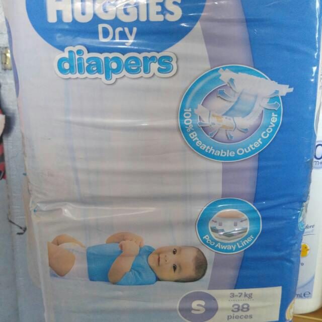 Huggies Diapers Small Available 2pcs